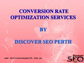 Conversion Rate Optimization Services in Perth
