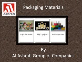 Packaging Materials Suppliers In UAE