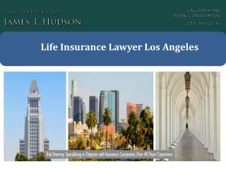 Life Insurance Lawyer Los Angeles