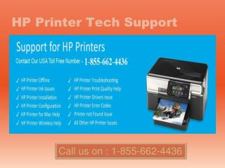 @1-855-662-4436 Hp printer Support for not printing