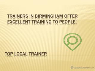 Personal Trainers Birmingham - Top Local Trainer