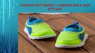 Toddler Boy shoes � Comfortable and stylish