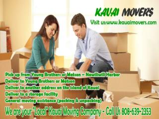WE ARE A LOCAL KAPAA-KAUAI MOVIER COMPANY