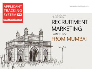 Hire Best Recruitment Marketing Partners from Mumbai