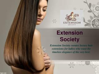 Extension Society - Remy Hair Extensions
