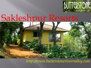 Sakleshpur resorts