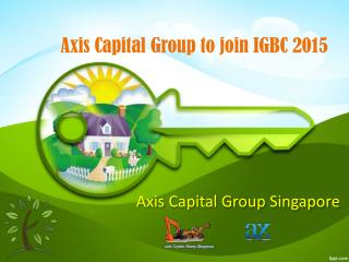 Axis Capital Group to join IGBC 2015