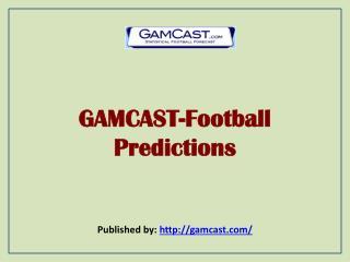 GAMCAST-Football Predictions