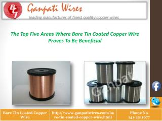 Bare Tin Coated Copper Wires