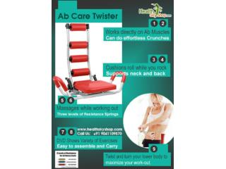 Six Pack Abs With Ab Rocket Twister At Home