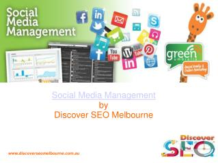 Social Media Management in Melbourne
