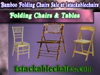 Bamboo Folding Chairs Sale at 1stackablechairs
