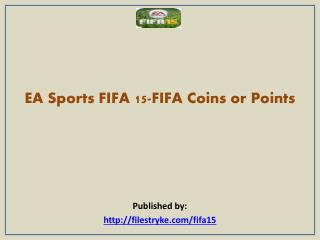 EA Sports FIFA 15-FIFA Coins or Points