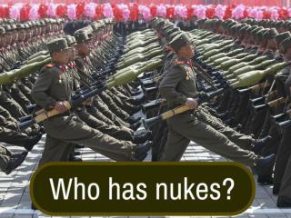 Who has nukes?