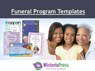 Download Creative And Useful Funeral Templates!