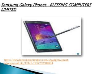 Samsung Galaxy Phones Online Nigeria