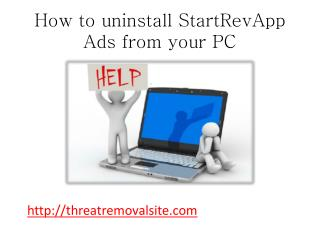 How to Block StartRevApp Ads from PC Easily