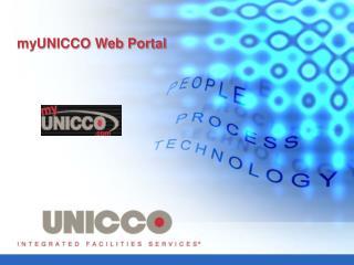 MyUNICCO Web Portal