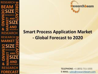Smart Process Application Market (Industry) Share, Growth, Share, Trends,  Forecast  to 2020