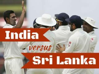 India versus Sri Lanka