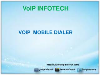 Voip mobile dialer