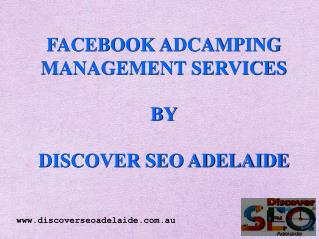 Facebook Ad-campaign Management  in Adelaide