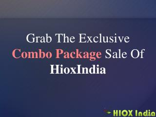 Domain   Hosting Combo Offer - HioxIndia