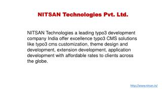 Typo3 Development Company