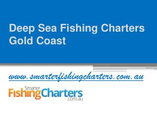 Deep Sea Fishing Charters Gold Coast Reviews at www.smarterfishingcharters.com.au