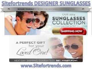 Sitefortrends (Sitefortrends.com) Designer Sunglasses
