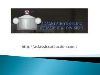 Aclassiccarauction