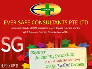 Wah Course, Lifting Supervisors Course