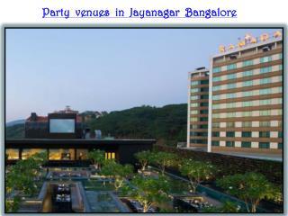 Amazing Banquet halls in Jayanagar Bangalore
