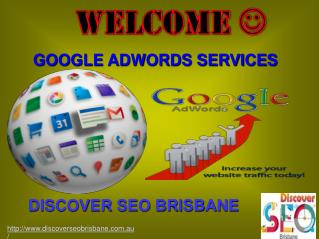 Google Adwords - Brisbane SEO Services