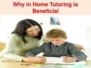 In Home Tutoring Novi