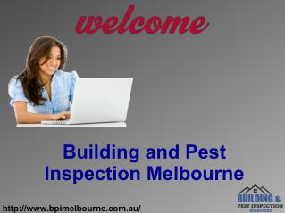 Building And Pest Inspection Services in Melbourne