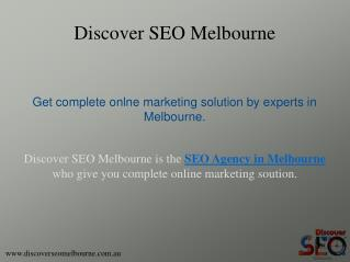 Conversion Rate Optimizaton Services offer by Discover SEO Melbourne