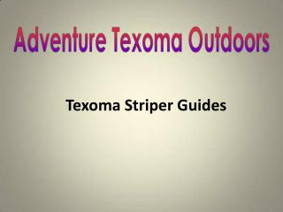 Texoma Striper Guides
