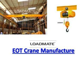 EOT Crane Manufacturer in Surat