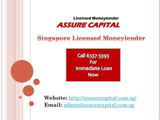 Are You Searching For A Licensed Moneylender For Personal Loan Singapore?