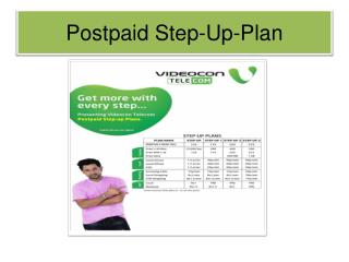 Videocon postpaid services