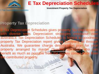 Property Tax Depreciation ATO