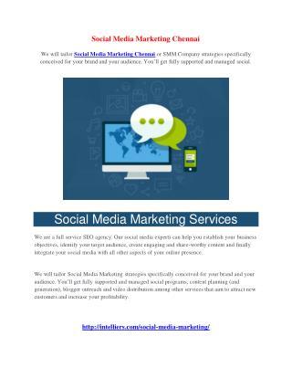Social Media Marketing Chennai