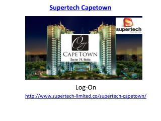 Supertech Capetown Housing Society