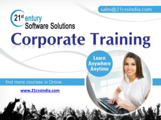 Introduction for Corporate training courses