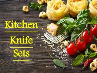 Is Richardson Sheffield's Professional Kitchen Knife Sets Are In Most Demand?