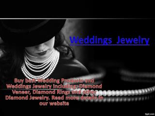 Weddings Jewelry