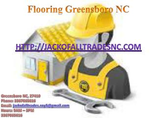 Drywall and Window Installation, Deck Building and Carpentry, Flooring - Greensboro NC