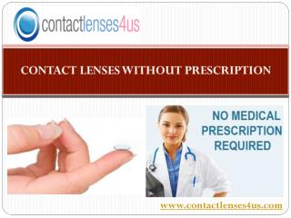 Huge Collection of Contact Lenses without Prescription