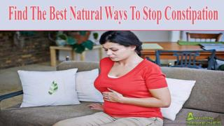 Find The Best Natural Ways To Stop Constipation